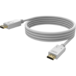 Vision TC 3MDPHDMI4K DisplayPort cable 3 m HDMI White