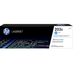 HP CF541X (203X) Toner cyan, 2.5K pages