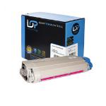 Click, Save & Print Remanufactured Oki 44059230 Magenta Toner Cartridge