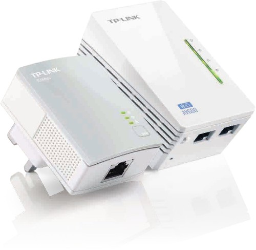 TP-LINK TL-WPA4220 KIT V1.20 600 Mbit/s Ethernet LAN Wi-Fi White 2 pc(s)
