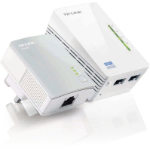 TP-LINK TL-WPA4220 KIT V1.20 600Mbit/s Ethernet LAN Wi-Fi White 2pc(s)