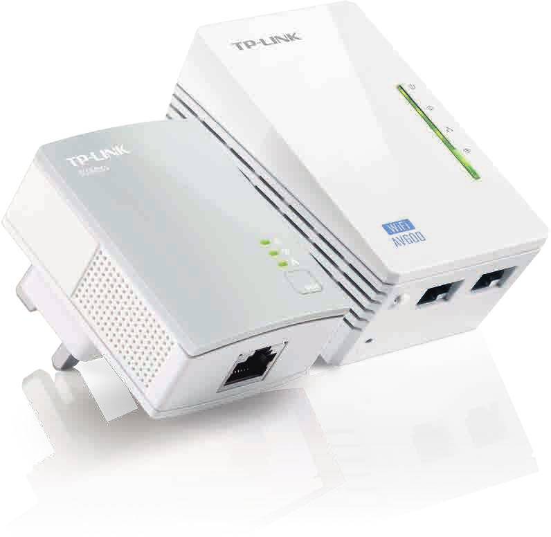 TP-LINK TL-WPA4220 KIT V1.20 600Mbit/s Ethernet LAN Wi-Fi White 2pc(s) PowerLine network adapter