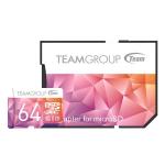 Team Group Colour Card II Micro SDHC UHS-1 U3 64G 90/45 R/W