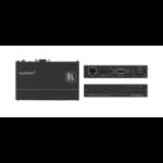 Kramer Electronics TP-580RXR AV extender AV receiver Black
