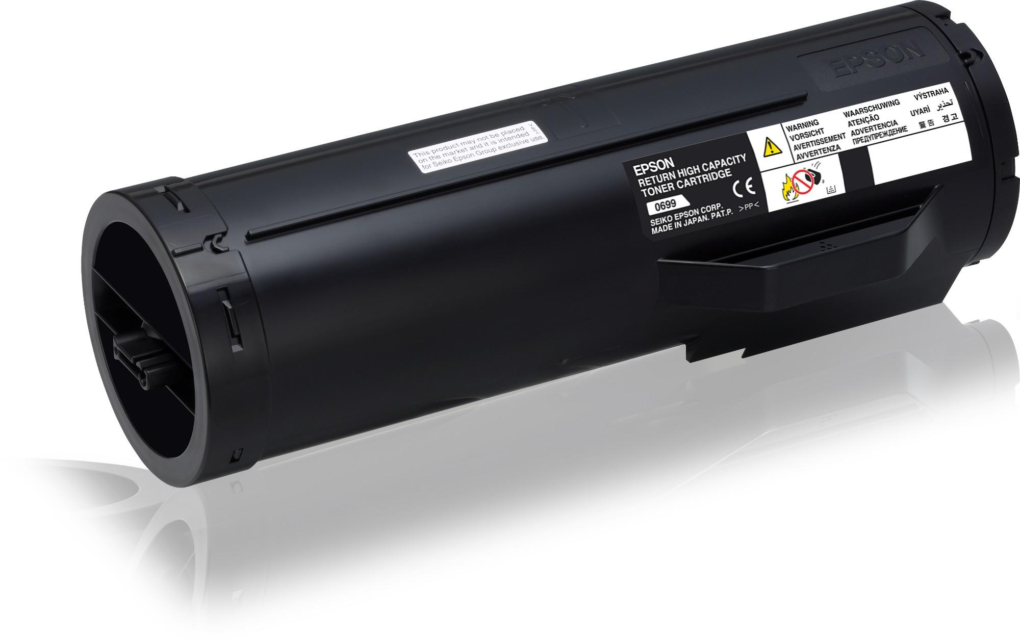 Epson Cartucho de tóner retornable negro alta capacidad 23.7k