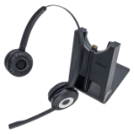 Jabra Pro 920 Duo Headset Head-band Black