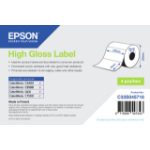 Epson High Gloss Label - Die-cut Roll: 102mm x 76mm, 1570 labels