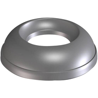 ADDIS OPEN TOP LID METALLIC GREY