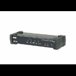 ATEN CS1924M-AT-E KVM switch Black