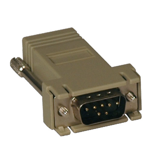 Tripp Lite Modular Serial Adapter (DB9 M to RJ45 F)