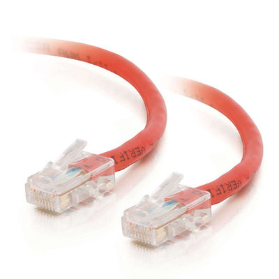 C2G Cat5E Assembled UTP Patch Cable Red 1.5m