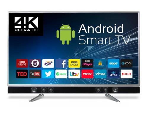 "Cello P65ANSMT-4K TV 165.1 cm (65"") 4K Ultra HD Smart TV Wi-Fi Black"