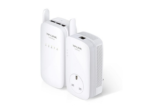 TP-LINK TL-WPA8630KIT 1200Mbit/s Ethernet LAN Wi-Fi White 2pc(s) PowerLine network adapter