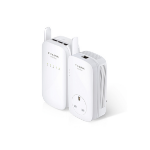 TP-LINK TL-WPA8630KIT PowerLine network adapter 1200 Mbit/s Ethernet LAN Wi-Fi White 2 pc(s)