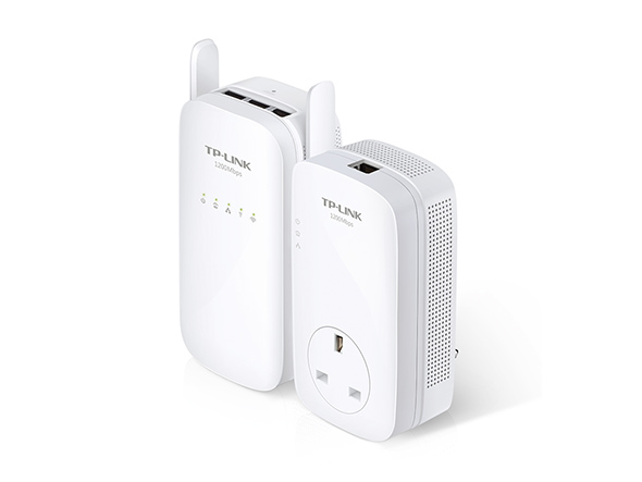 Gigabit Powerline Ac Wi-Fi Kit Av1200 ( Tl-pa8010p + Tl-wpa8630)