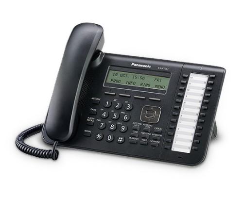 Panasonic KX-NT543X-B IP phone Black Wired handset LCD 3 lines