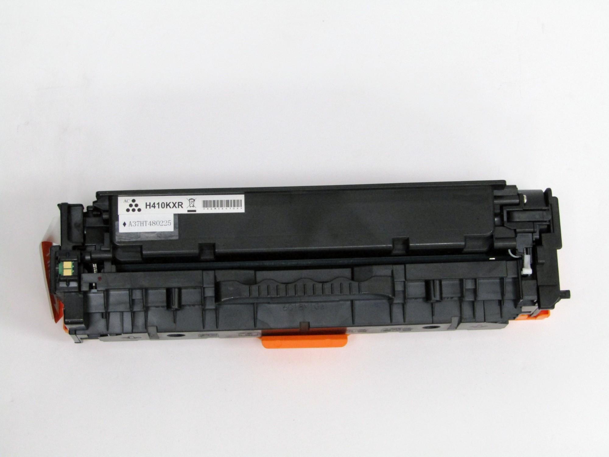Remanufactured HP CE410X (305X) Black Toner Cartridge
