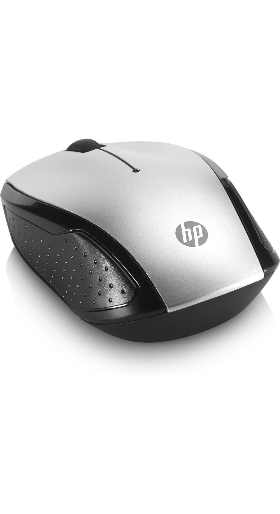 HP 201 mice Ambidextrous Black, Silver