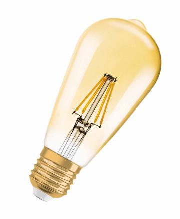 Osram RF CL ST64 LED bulb 7 W E27 A++