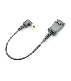 Plantronics 65287-01 Black telephony cable