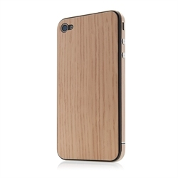 Belkin Finish Protective Cover for iPhone 4 PVC Cedar Wood