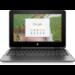 "HP Chromebook x360 11 G1 EE Negro 29,5 cm (11.6"") 1366 x 768 Pixeles Pantalla táctil Intel® Celeron® N3350 8 GB LPDDR4-SDRAM 64 GB eMMC"
