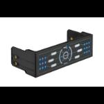 Aerocool F6XT 6channels Black fan speed controller