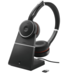 Jabra Evolve 75 UC Stereo Headset Head-band Bluetooth Black