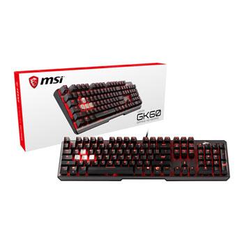 MSI Keyboard USB Vigor GK60 CR MX-Red RGB
