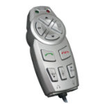 Videk 4406C Wired Press buttons Silver remote control