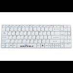 Seal Shield Cleanwipe keyboard RF Wireless QWERTY US English White
