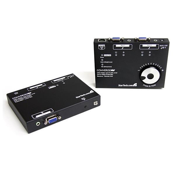 StarTech.com Long Range VGA over Cat5 Video Extender 300m / 950 ft – 1920x1080