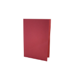 Exacompta Value Square Cut Folder LightWeight Foolscap Red PK100