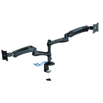 Brateck Dual Monitor Counterbalance LCD VESA Desk Mount With USB3.0 Port, Fit for most 13'-27' LCD Screens