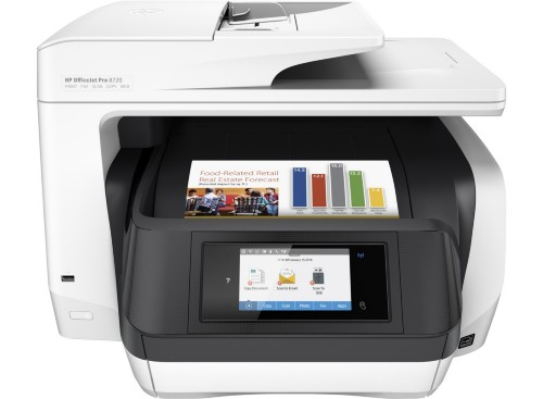HP OfficeJet Pro 8720 4800 x 1200DPI Thermal Inkjet A4 24ppm Wi-Fi