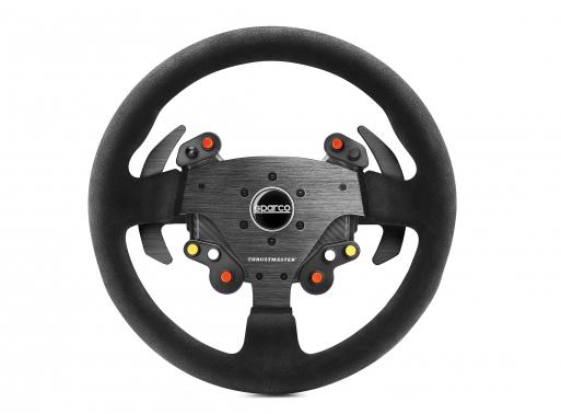 Thrustmaster Rally Wheel Add-On Sparco® R383 Mod Stuur PC,PlayStation 4,Xbox One Analoog Koolstof