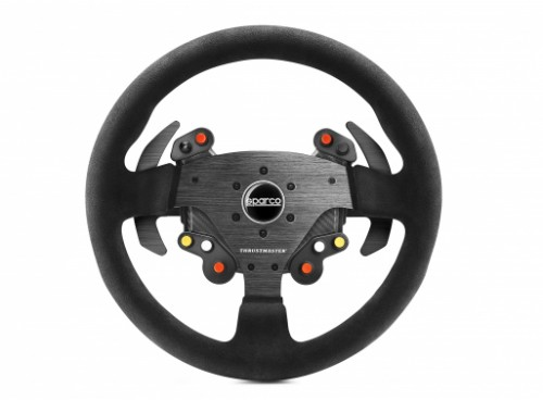 Thrustmaster Rally Wheel Add-On Sparco® R383 Mod Steering wheel PC, PlayStation 4, Xbox One Analogue Carbon