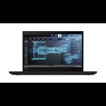 "Lenovo ThinkPad P43s Black Mobile workstation 35.6 cm (14"") 1920 x 1080 pixels 8th gen Intel® Core™ i7 16 GB DDR4-SDRAM 1000 GB SSD 3G 4G Windows 10 Pro"