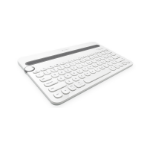 Logitech K480 Bluetooth QWERTY UK English Grey,White mobile device keyboard
