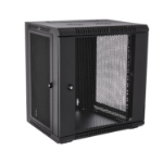 V7 RMWC12UV450-1E rack cabinet 12U Wall mounted rack Black