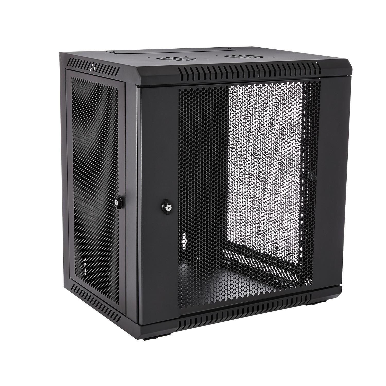 V7 RMWC12UV450-1E estante 12U Bastidor de pared Negro