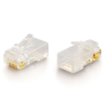 C2G 88124 wire connector RJ-45 White