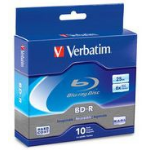 Verbatim 97238 25GB BD-R 10pcs read/write blu-ray disc (BD)