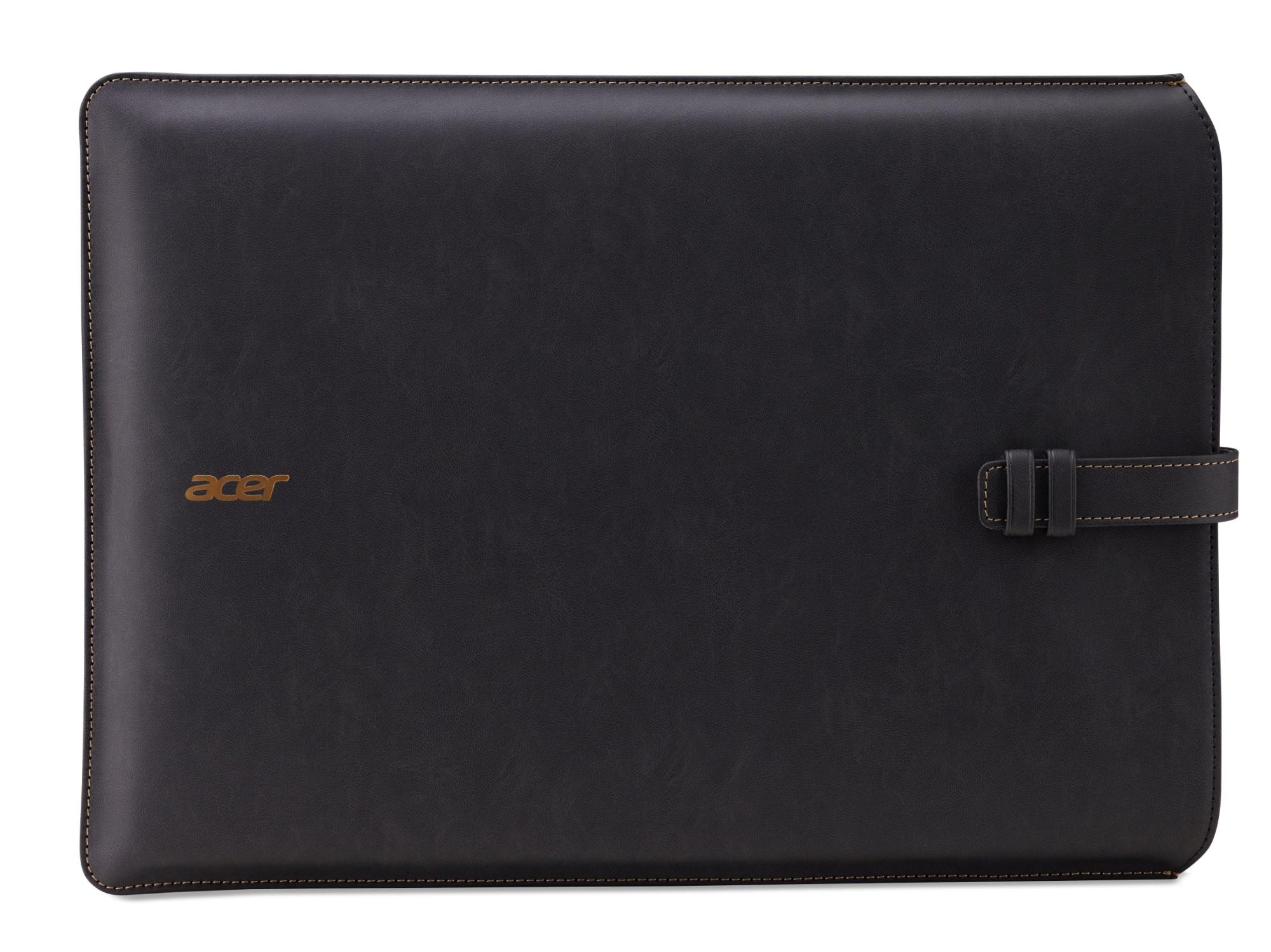 "Acer NP.BAG1A.275 notebook case 35.6 cm (14"") Sleeve case Grey"