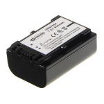 2-Power Camcorder Battery 6.8v 980mAh