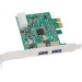 Sharkoon SuperSpeed 2-Port USB 3.0 PCI-E Card, NEC Chipset