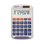Aurora HC133 Pocket Basic calculator White calculator