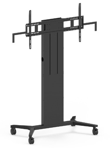 Vision K/ F40 Floorstand - Portable Portable flat panel floor stand Black