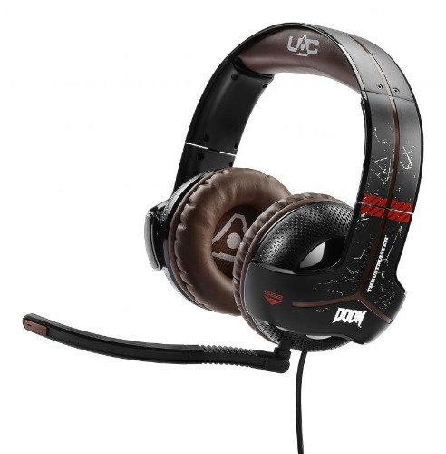 Thrustmaster Y-300CPX Binaural Head-band Black, Brown headset