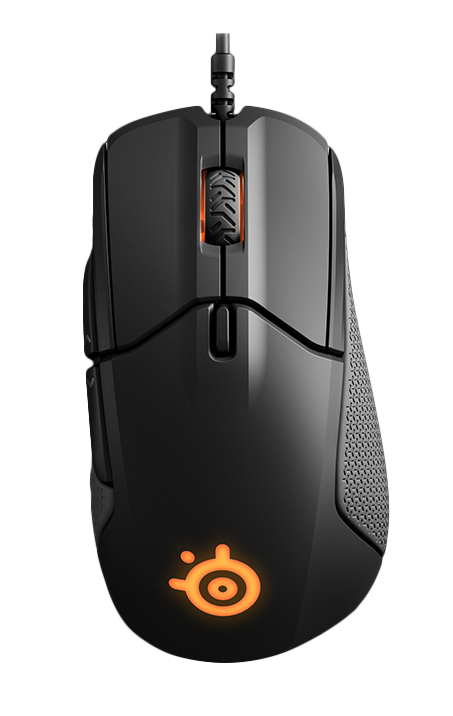 Steelseries RIVAL 310 mice USB Optical 12000 DPI Right-hand Black